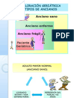 CLASE  2015 VALORACION GERIATRICA INTEGRAL envío.ppt