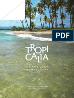 Reporte de Sostenibilidad Tropicalia (Sustainability Report) - 2013