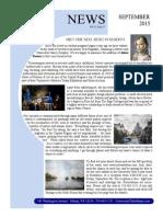 September 2015 UC Newsletter