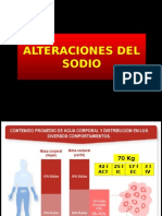 Alteraciones de Sodio y Potasio