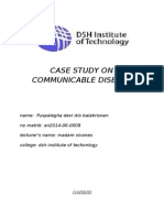 Case Study on Communicable Disease