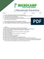 (MC) Exercícios Manutenção Preventiva 1