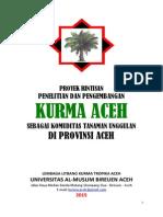Proyek Penelitian Kurma Aceh