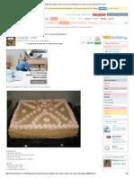 Torta de Galletas de Vainilla Rellena Con Crema de Platano