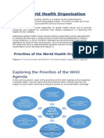 the world health organisation priorities - for use in 2015