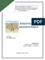 ARQUITECTURA+MESOPOTAMICA