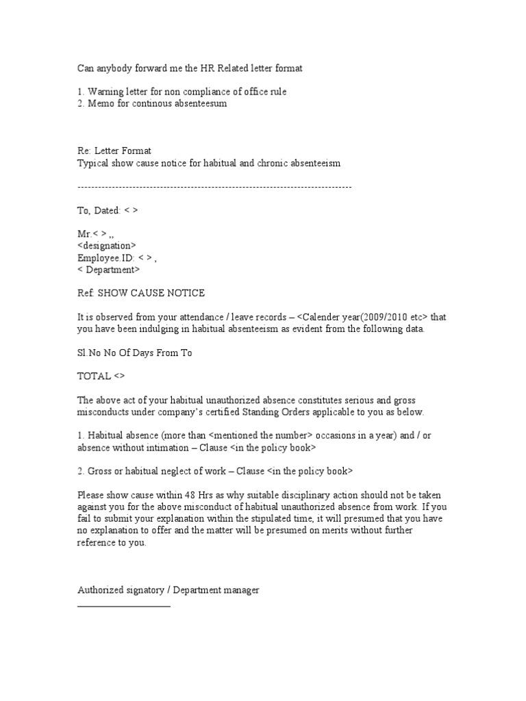 Hr related letter format human resource management politics spiritdancerdesigns Image collections