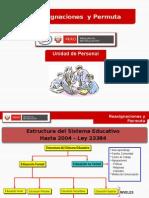Presentacin Reasignacion Profesores Ley N29944