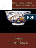 Drinking - Punch Bowls - European & Chinese
