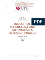 Industrial Technology and automation's research project