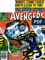 Marvel Super Action The Avengers 23 Vol 1