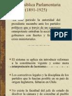 La Republica Parlamentaria II
