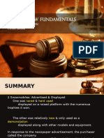 Law Fundamental Case