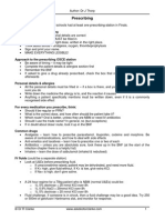 Prescribing for Medical Students