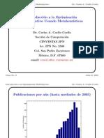 Introduccion a La Optimizacion Con Metodos Euristicos