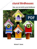 Architectural Birdhouses