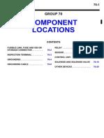 localisação dos componentes eletricos do veiculo mitisubshi