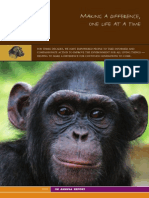 2007 Annual Report of the Jane Goodall Institute