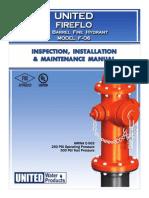 UWP F-06_Fire_Hydrant_Installation_Operation_Manual.pdf