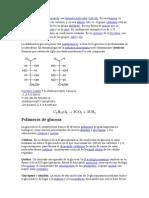 La glucosa es un monosacárido con fórmula molecular C6H12O6.docx