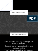 third wave feminism power point