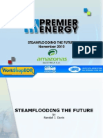 Steamflood for EOR in order to boost production
