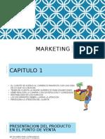 Administracion y Presentacion del Producto en  un Punto de venta