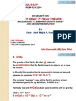 Overview on Earth Gravity Field Theory - Majid Kadir