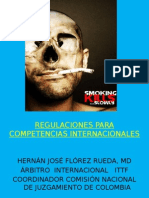 Regulaciones Para Competencias Internacionales