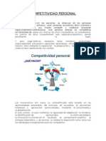 Competitividad Personal