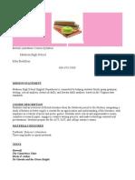 British Literature Course Syllabus