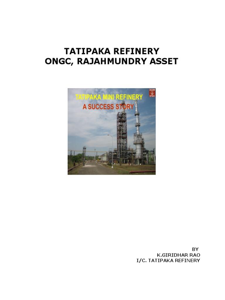 Refinery Citation | Ion Exchange | Corrosion