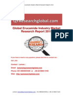 Global Erucamide Industry Market Research Report 2015