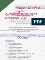 Cfd Grid Postprocessing 2013