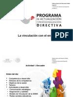 Presentacion La Vinculacion Con El Entorno