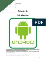 Tutorial Introduccion a ANDROID STUDIO