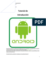 Tutorial Introduccion a ANDROID STUDIO