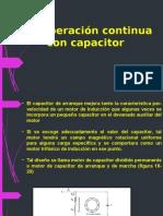 Operacion Continua Con Capacitor MAQUINAS ELECTRICAS