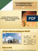FOTOPROTECCION y fotodermatosis.ppt