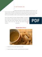 14 Manfaat Beras Kencur Dan Pembuatan Jamu