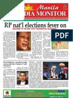 Manila Media Monitor -- February 2010