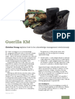 IK Article - Guerrilla Knowlege Management (February 10)