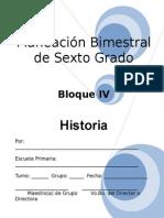 6to Grado - Bloque 4 - Historia