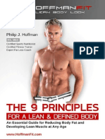 The 9 Principles for a Lean & Defined Body - Philip Hoffman