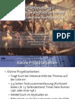 Int. Konfliktforschung II - Woche 02 - Quantitative Konfliktforschung (Übung)