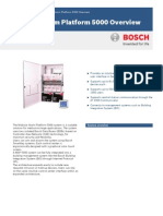 Modular Alarm Platform 5000 Overview