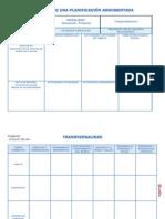 Formato de Una Planificación Argumentada
