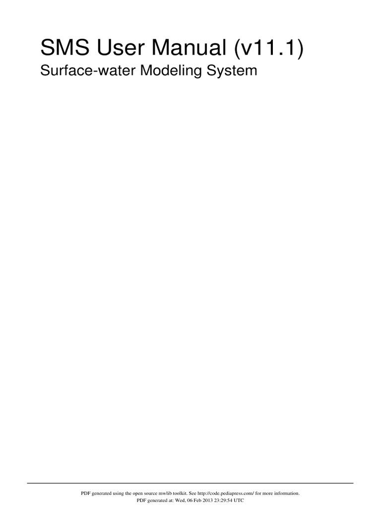 sms user manual v11 1 geographic information system menu computing