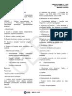 Cers - Oab Primeira Fase - Xvi Exame - Direito Administrativo - Aula 01 e 02 - Matheus Carvalho