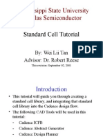 Standard Cell Tutorial